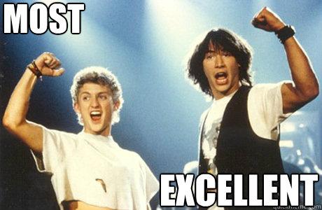 Most  EXCELLENT