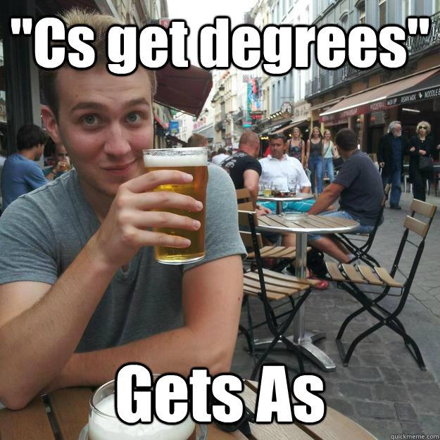 cs get degrees gets as enthusiastic college senior quickmeme
