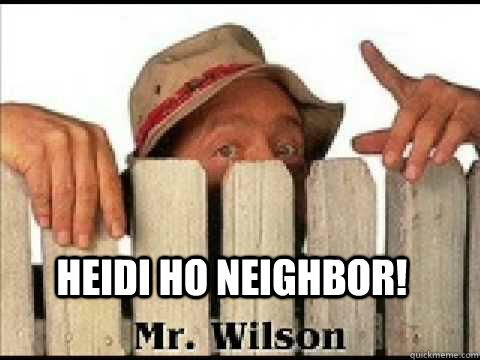 heidi ho neighbor