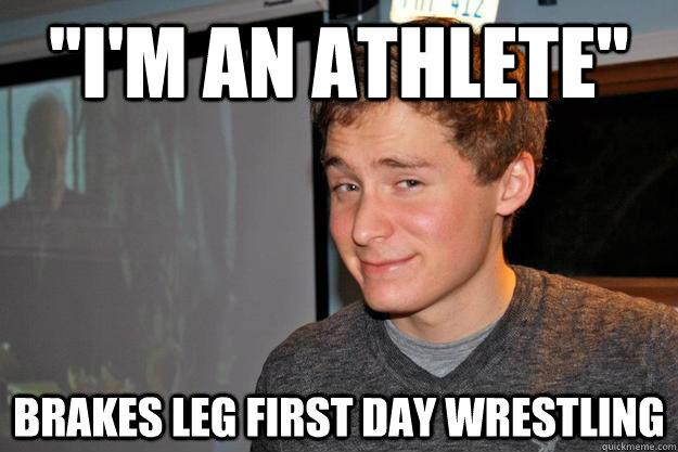 Dating an athlete meme
