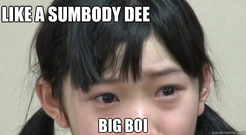 Like a Sumbody dee Big Boi - Like a Sumbody dee Big Boi  Karin Miyamoto Grape