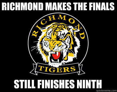 Richmond makes the finals Still finishes ninth