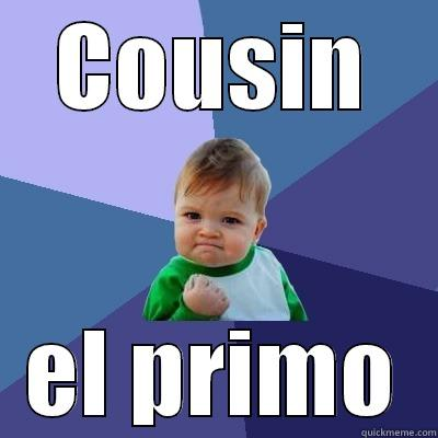 how to say cousin in spanish