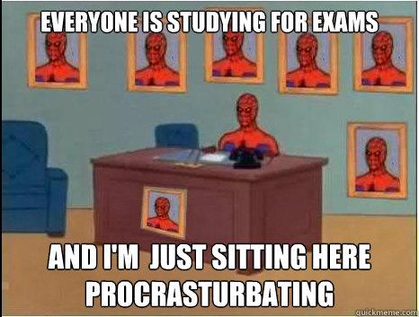 Procrasturbating
