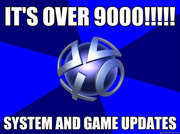 It's Over 9000!!!!! System and game updates