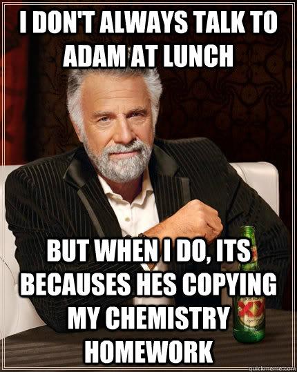do my chemistry homework