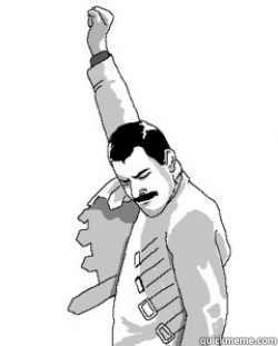 -    Victory Freddie Mercury