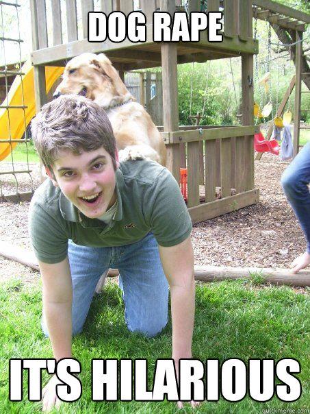 dog rape it's hilarious