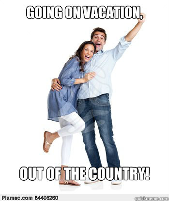 Going on vacation, Out of the country! - Going on vacation, Out of the country!  Victory Couple