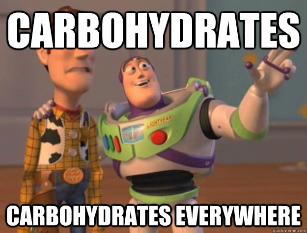 carbohydrates carbohydrates everywhere - carbohydrates carbohydrates everywhere  Buzz Lightyear