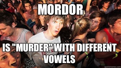 Mordor Is