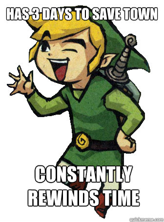 Has 3 Days To Save Town Constantly rewinds time   Scumbag Link