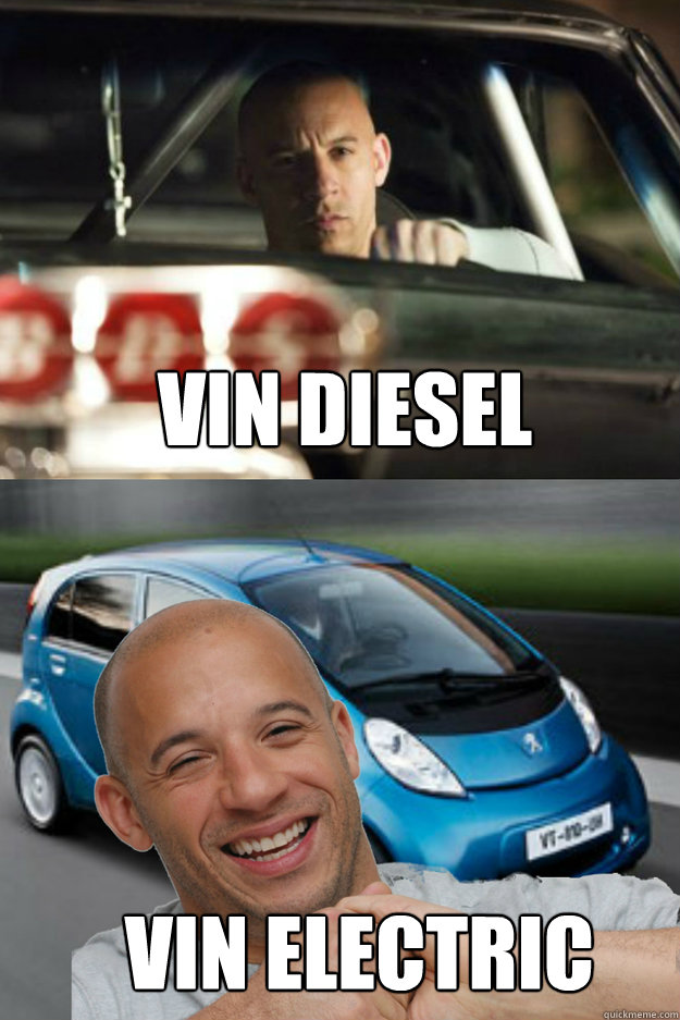 VIN DIESEL VIN ELECTRIC  Vin Diesel
