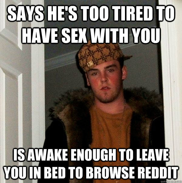 Hes too tired for sex