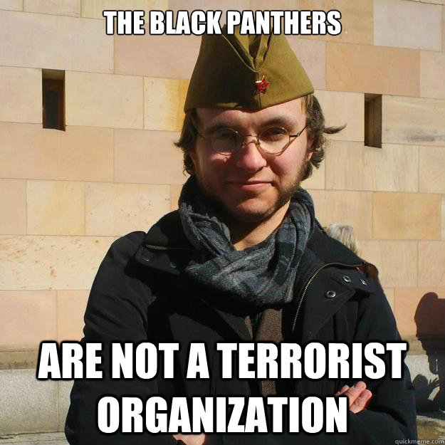 The Black Panthers Are Not A Terrorist Organization