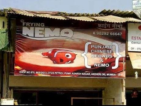 Didn't know Nemo made it to India...Oops -   Misc