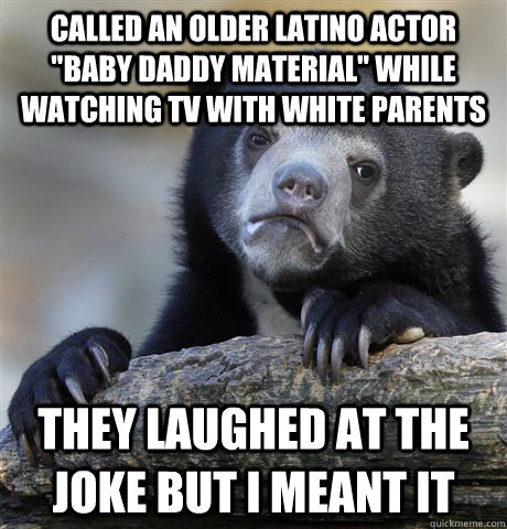 called an older latino actor