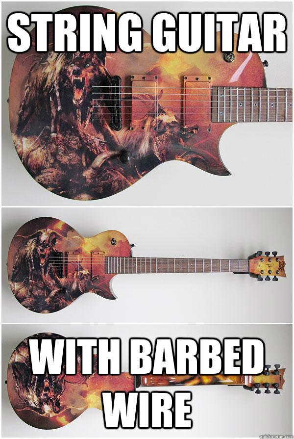 Insanity Guitar Memes Quickmeme