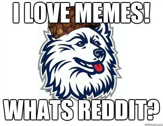 f1874e8ba44b3fd0d02aca1978cc7ee8f6b31f57615b81b650b9ac55cd5599b5 i love memes! whats reddit? scumbag uconn quickmeme,I Love Memes
