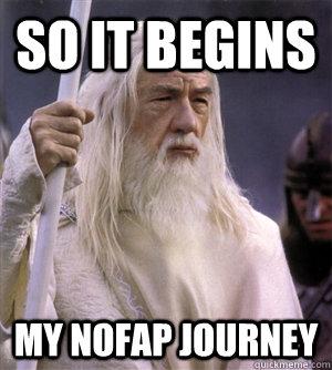 so it begins my nofap journey