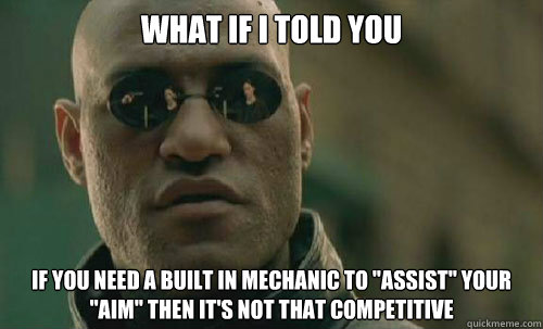 What if I told you If you need a built in mechanic to