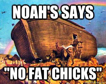 Noah's says
