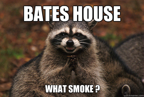 Bates House What Smoke ? - Bates House What Smoke ?  Insidious Racoon 2