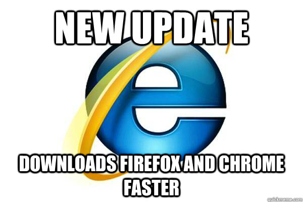 new update downloads firefox and chrome faster