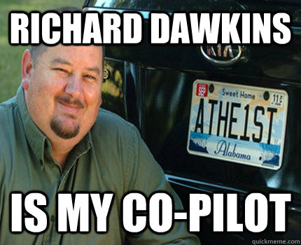 Richard Dawkins Is My Co-Pilot