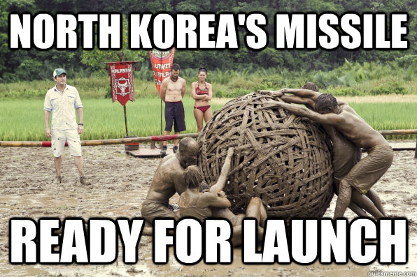 North Korea's Missile ready for launch  North Korea