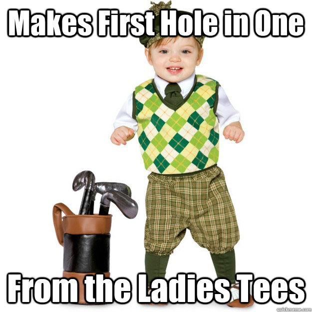 Makes First Hole in One From the Ladies Tees - Makes First Hole in One From the Ladies Tees  Amateur Golfer