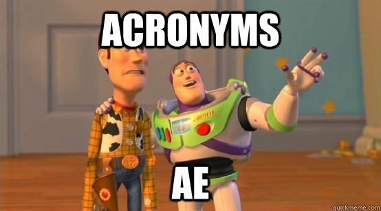 Acronyms AE - Acronyms AE  Buzz Glitter
