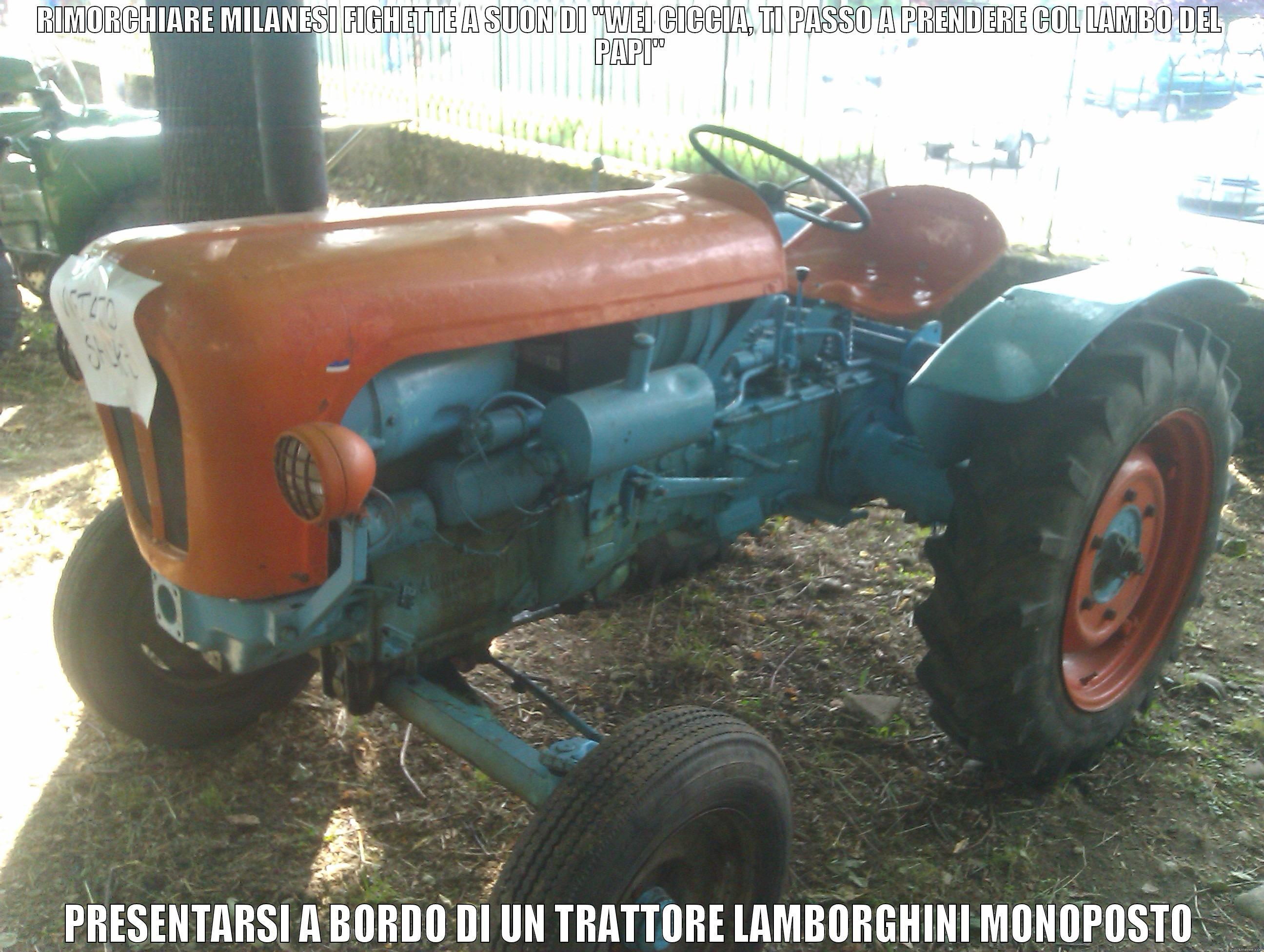 Tractor Lambo Quickmeme