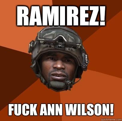 RAMIREZ! Fuck Ann Wilson!