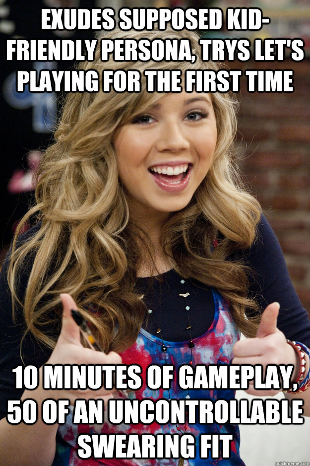 Funny Memes For Kids No Swearing : Exudes supposed kid friendly persona trys let s playing