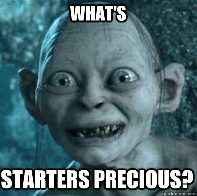 WHAT'S STARTERS PRECIOUS?