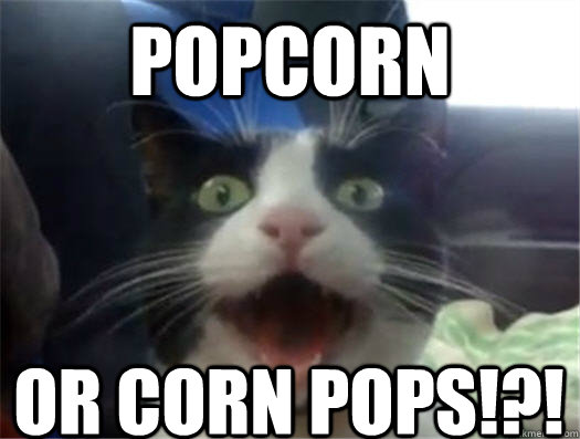 POPCORN OR CORN POPS!?!