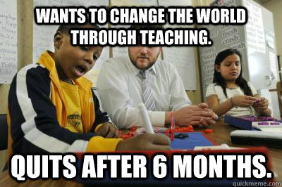 WORLD CHANGE TEACHING TO THE