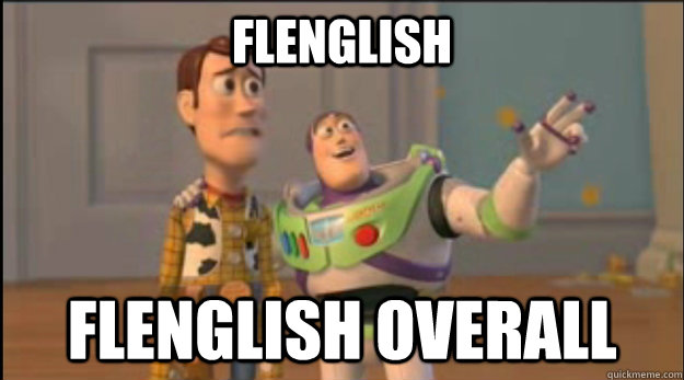 Flenglish Flenglish overall - Flenglish Flenglish overall  Misc