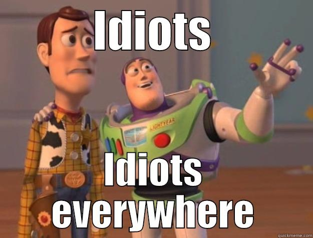 IDIOTS IDIOTS EVERYWHERE Toy Story