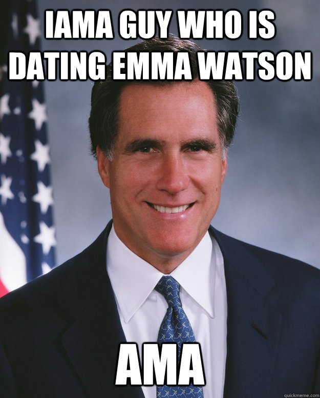 IAMA guy who is dating Emma Watson AMA