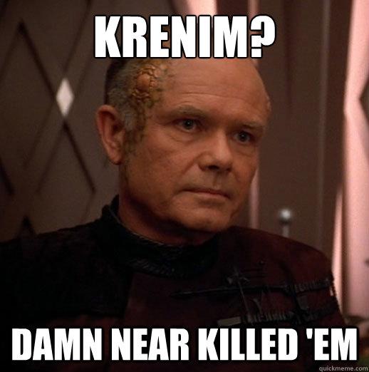 Krenim? damn near killed 'em - Krenim? damn near killed 'em  Misc