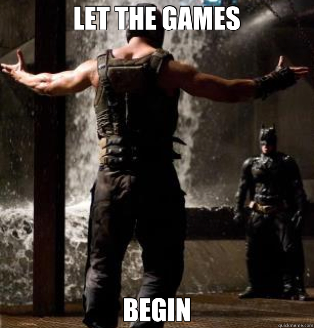 let the games begin misc quickmeme
