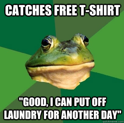 Catches free t-shirt