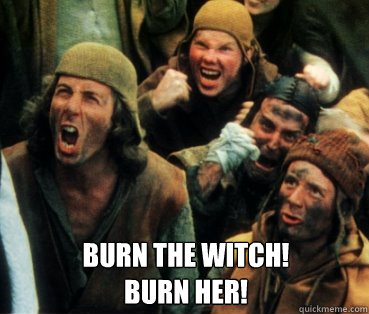 Image result for burn the witch animated gif