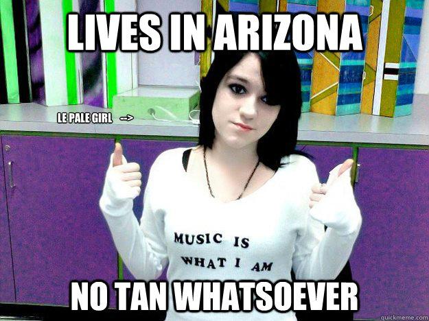 Pale Girl Meme