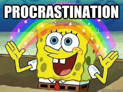 procrastination  - procrastination   Misc