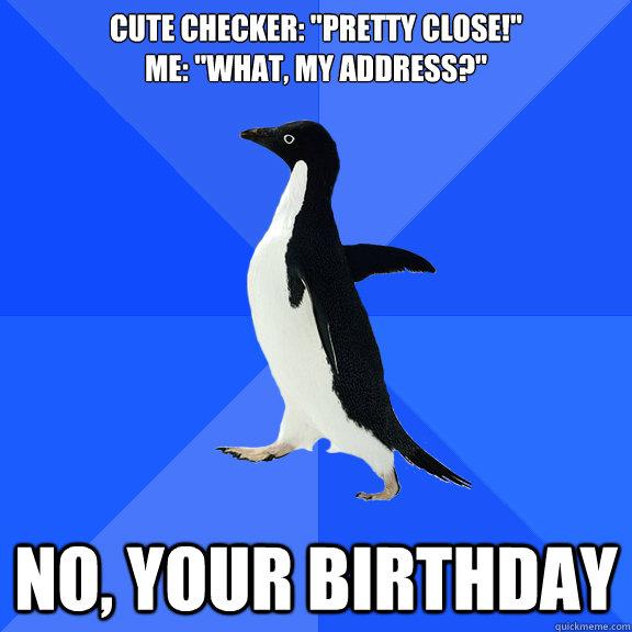 cute checker: