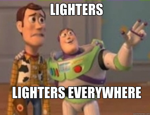 Lighters  Lighters Everywhere - Lighters  Lighters Everywhere  Misc