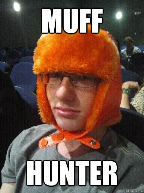 Muff Hunter - Muff Hunter  silent ginger meme